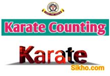 Karate Counting in Hindi | कराटे की गिनती हिंदी में।